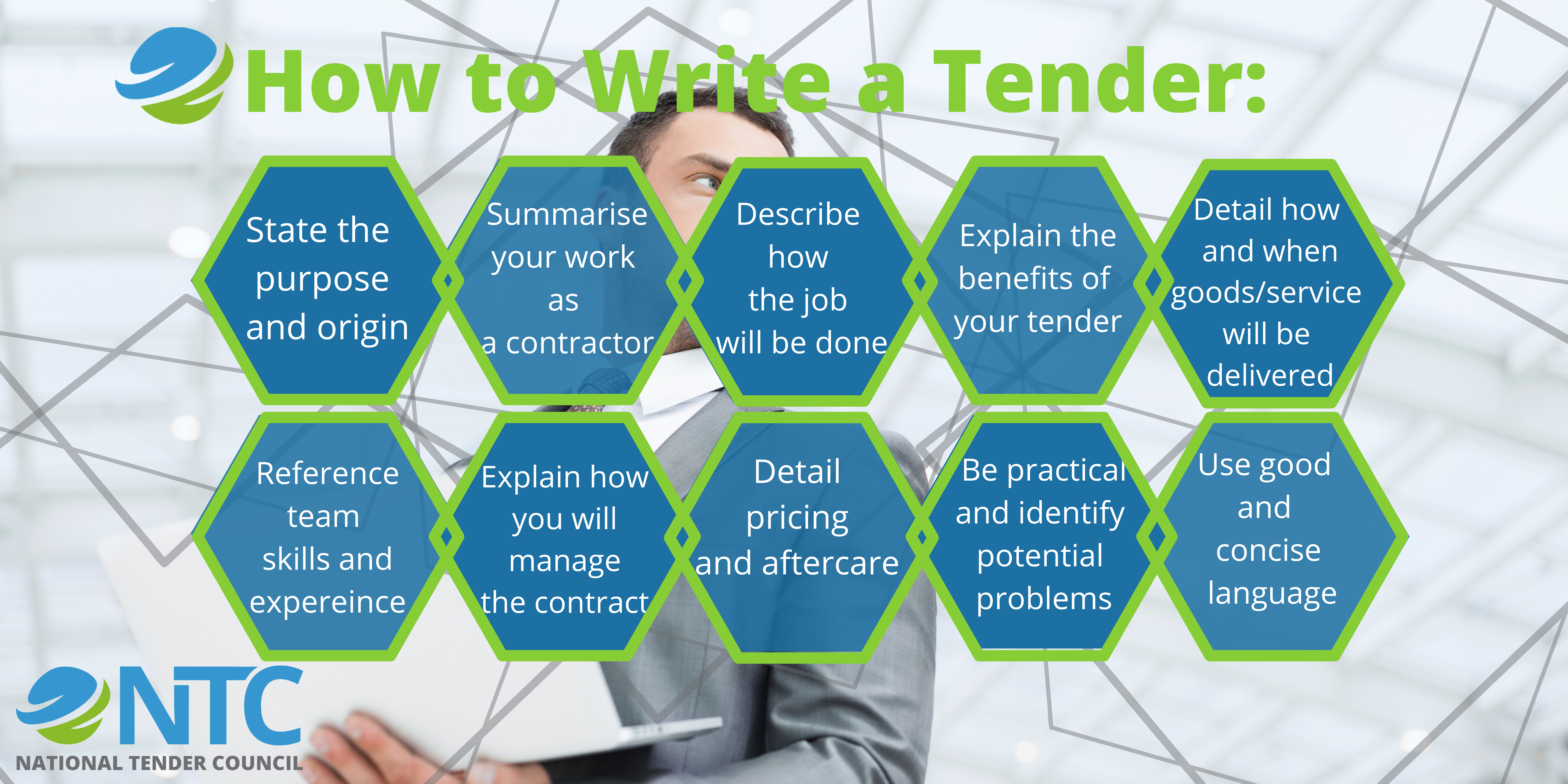 how to write a tender
